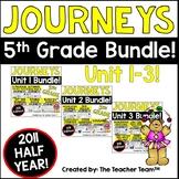 Journeys 5th Grade Unit 1 - Unit 3 Printables Bundle | 2011