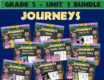 Journeys 5th Grade Unit 1 BUNDLE