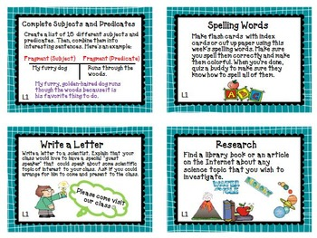 Journeys 5th Grade Unit 1 Task Cards Supplemental Materials 2011