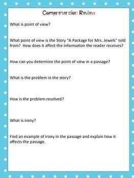 Journey's 5th Grade Unit 1 Lesson 1