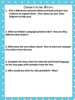 Journey's 5th Grade Unit 1 Lesson 3