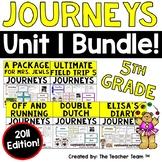 Journeys 5th Grade Unit 1 Supplemental Activities & Printables  2011
