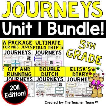 Journeys 5th Grade Unit 1 Supplemental Materials 2011