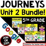 Journeys 5th Grade Unit 2 Google Activities Bundle | 2014 | Distance Learning