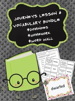 Journeys 5th Grade Unit 2 Lesson 6 Vocabulary Bundle