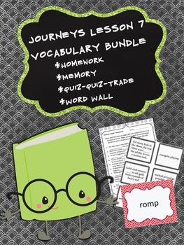 Journeys 5th Grade Unit 2 Lesson 7 Vocabulary Bundle