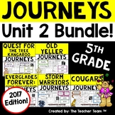 Journeys 5th Grade Unit 2 Supplemental Activities & Printables 2017
