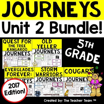 Journeys 2017 5th Grade Unit 2 Supplemental Materials
