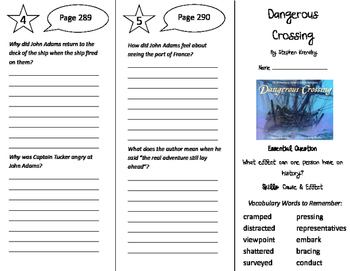 Journeys 5th Grade Unit 3 Trifolds Bundle! (2011)