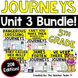 Journeys 5th Grade Unit 3 Supplemental Activities & Printables 2011