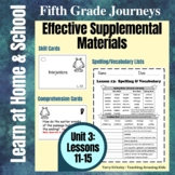 5th Grade Journeys - Unit 3:  Effective Supplemental Materials