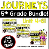 Journeys 5th Grade Unit 4-6 Half Year Supplemental Activities & Printables 2011