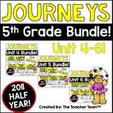 Journeys 5th Grade Unit 4-6 Half Year Bundle Supplemental Materials 2011