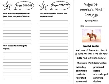 Journeys 5th Grade Unit 5 Trifolds Bundle! (2014, 2017 Common Core)