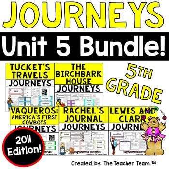 Journeys 5th Grade Unit 5 Supplemental Materials 2011