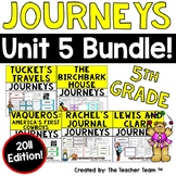 Journeys 5th Grade Unit 5 Supplemental Activities & Printables 2011