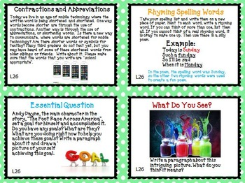 Journeys 3rd Grade Unit 6 Task Cards Supplemental Activities & Printables 2011