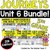 Journeys 5th Grade Unit 6 Supplemental Activities & Printables 2011
