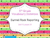 Journey's 5th Grade Vocabulary Dominoes Darnell Rock Reporting