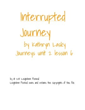 Journeys 5th grade unit 2 lesson 6 activities and games