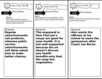Journeys 6th Grade Common Core~ Persuading The Public Trifold Close Read