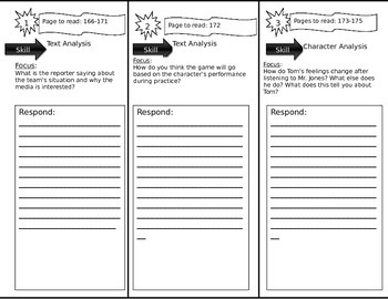 Journeys 6th Grade Common Core~ The Boy Who Loved Baseball Trifold Close Read