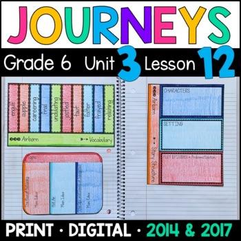 Journeys 6th Grade Lesson 12: Airborn (Supplemental & Inte