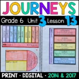 Journeys 6th Grade Lesson 13: Onward (Supplemental & Interactive Pages)