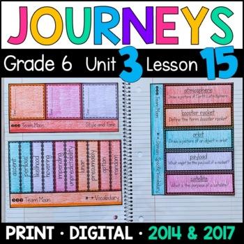 Journeys 6th Grade Lesson 15: Team Moon (Supplemental & In