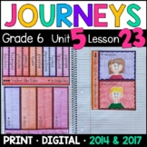 Journeys 6th Grade Lesson 23: Number the Stars Supplements with GOOGLE Classroom