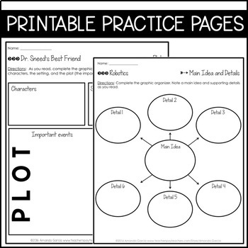 Journeys 6th Grade Lesson 25: Robotics (Supplemental & Interactive Pages)