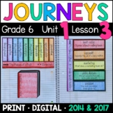 Journeys 6th Grade Lesson 3: The Making of a Book Supplement w/ GOOGLE Classroom