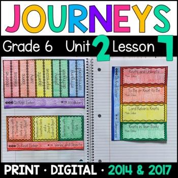 Journeys 6th Grade Lesson 7: Do Knot Enter (Supplemental &