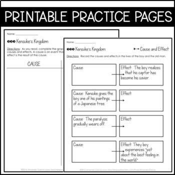 Journeys 6th Grade Lesson 9: Kensuke's Kingdom (Supplemental & Interactive Pgs)