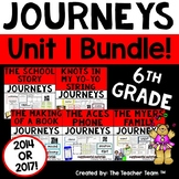 Journeys 6th Grade Unit 1 Supplemental Activities & Printables CC  2014