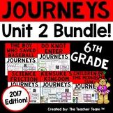 Journeys 6th Grade Unit 2 Supplemental Activities & Printables 2017