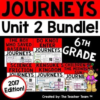 Journeys 2017 6th Grade Unit 2 Supplemental Materials