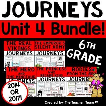 Journeys 6th Grade Unit 4 Supplemental Materials 2014