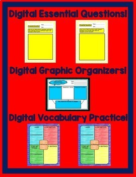 Journeys 6th Grade Unit 5 Bundle Supplemental Resources Google Drive Resource