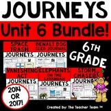 Journeys 6th Grade Unit 6 Supplemental Activities & Printables CC 2014