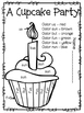 Journeys, A Cupcake Party, Centers and Printables, Unit 2 Week 5