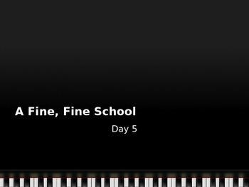Journey's A Fine Fine School Day 5