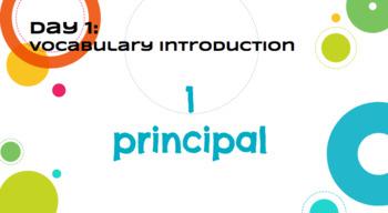 Journeys: A Fine, Fine School - Supplemental Materials Via Google Slides