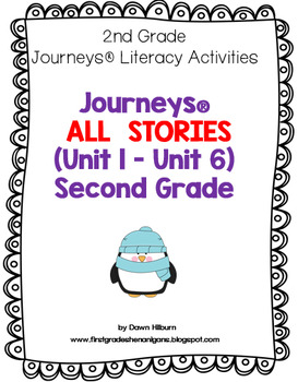 Journeys® ALL STORIES (Unit 1 - Unit 6) for Second Grade
