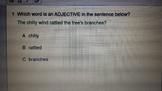 Journeys Adjective quiz for Senteo-2