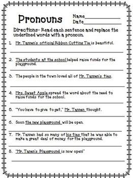 Mr. Tanen's Tie Trouble Journeys 2nd Grade Unit 4 Lesson 16 Activities
