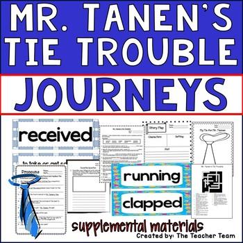 Mr Tanen's Tie Trouble Journeys 2nd Grade Supplemental Materials