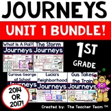 Journeys 1st Grade Unit 1 Supplemental Activities and Printables CC 2014 or 2017