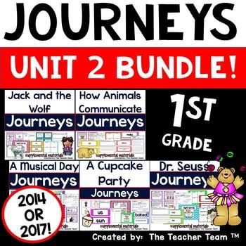 Journeys 1st Grade Unit 2 Supplemental Materials 2014
