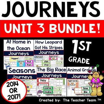 Journeys 1st Grade Unit 3 Supplemental Activities and Printables 2014